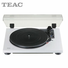 Teac TN-180BT Bluetooth Turntable With Built in Phono Stage 2 speed in White