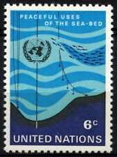 United Nations New York 1971 SG#215 Peaceful Uses Of The Sea MNH #D62784