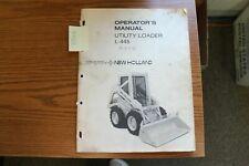 New Holland L445 Skid Steer Loader Operators Manual