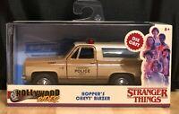 Jada Hollywood Rides Netflix Stranger Things Hopper's Chevy Blazer 1:32 Scale