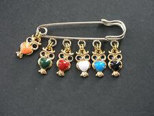 Enamel Owl charm pin brooch badge