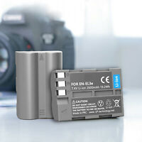 NEW OEM Battery For Nikon EN-EL3e for D50 D70 D70s D80 D90 D100 D200 D300s D700