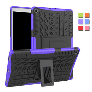 Full Body Rugged Shockproof Cover Case For Galaxy Tab A 10.1 SM-T510 / T515 2019
