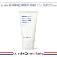 innisfree Blueberry Rebalancing 5.5 Cleanser 100ml Low pH + Free Sample [ US ]