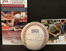 Chris Sale Red Sox Signed 2018 World Series DAMAGE DONE Baseball JSA