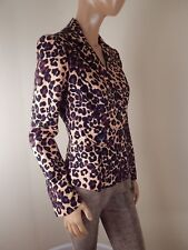 cache leopard coat, womens jacket animal print,trench