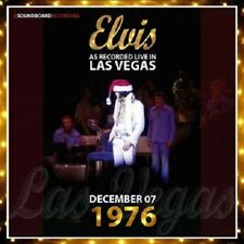 ELVIS PRESLEY - LAS VEGAS DECEMBER 7, 1976  -  Elvis Concert Fan Label