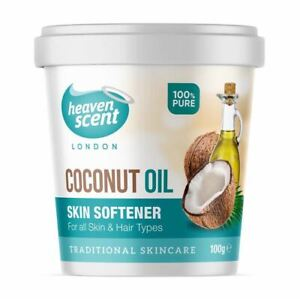 Coconut Oil 100% Pure Coconut oil Skin Softener For all Skin & Hair 100g