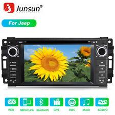 For Chrysler Jeep Dodge Stereo Usb Gps Navigation System Bluetooth Car Radio