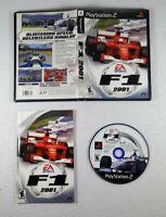 F1 2001 (Sony PlayStation 2, PS2, EA, 2001) Racing Game CIB - Free Shipping!