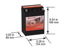 Deka ETX15L Motorcycle battery Replacement by SigmasTek