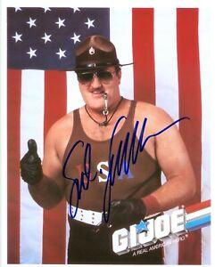 SGT SLAUGHTER GI JOE WWF WWE HOF LEGEND SIGNED AUTOGRAPH 8X10 PHOTO W/ PROOF