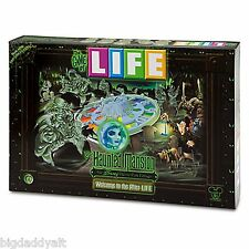 New Disney Parks Haunted Mansion The Game of Life Board Game Theme Park Edition