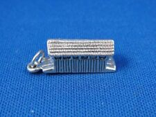 Bridge Charm Very Cute! Vintage Sterling Silver 3-D Covered