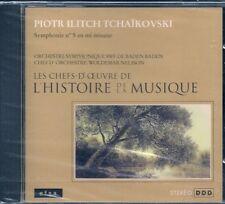 CD CLASSIQUE--TCHAIKOVSKI-SYMPHONIE N° 5 MI MINEUR-NEUF