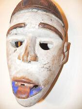 "Arts of Africa - Bakongo NKisi Mask - DRC - Congo - 12"" Height x 7"" Wide"