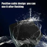 Eco-Aquarium Water Cube Purifier Water Cleaning Filter Activated Carbon Black