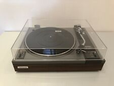 Pioneer PL-112D Manual Turntable Belt Drive Shure Cartridge and New Stylus