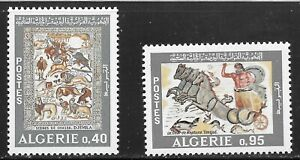 Algeria (1968) - Scott # 406 - 407,   MNH