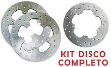 KIT 3 DISCHI FRENO 2 ANTERIORE + POSTERIORE BEVERLY CRUISER E3 500 2007 2008 4MM