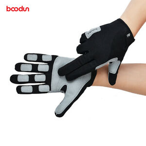 Boodun Sea Sailing Gloves Men Non-slip Full Fingers Workout Rock Climbing Gloves