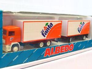 Albedo Volvo Getränkekofferhängerzug Fanta OVP (RR1403)