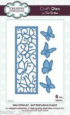 Creative Expressions striplet-Mariposas en Vuelo CED1611 Sue Wilson muere
