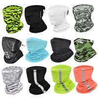 Neck Gaiter Bandana Half Face Covers Tactical Camo Scarf Multifunction Headband
