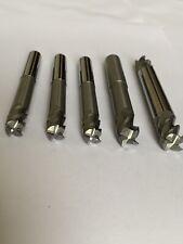 Carbide End Mill Long Seriel 12mm 10mm 5 Pieces Job Lot MA.35
