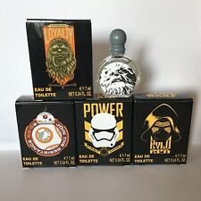 New Lot 4 Miniatures Parfum STAR WARS