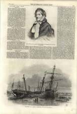 1861 Recent Ships Wrecked At Hartlepool, Mrs Lavinia Ryves Princess Claim