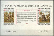 Malta Military Order At Vatican City 1979 MNH M/S #D40584