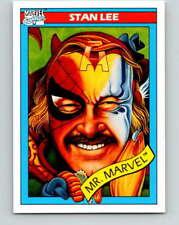 (HCW) 1990 Impel Marvel Universe #161 Stan Lee