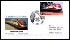 Ferrovia. Trans Europ Express VT 11.5 (1957). FDC-LETTERA. BRD 2006