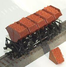 043 H0 Ladegut für Märklin Muldenkippwagen 46355, 4635, 46353, Erz, OVP