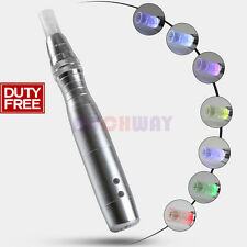 New Led  Photon Electric Derma Pen Micro Needle 7Colors Light Skin Tighten Acne