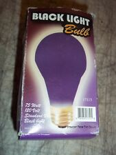 75W BLACK LIGHT BULB 17113 STANDARD VASE 120V