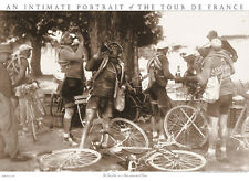 Tour de France SCENES REMINISCENT (Drinkers) Classic 1920s Cycling POSTER Print