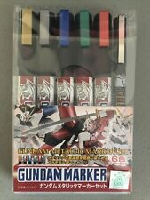 Bandai Hobby - Gundam Metallic Marker Set -  Set of 6 - US Stock - Free Shipping