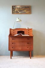 Sekretär Teak mit Schubladen/ bureau teak nordic design midcentury danish 60s