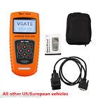 VS600 Universal OBD2 EOBD CAN Car Fault Code Reader Diagnostic Scanner Tool