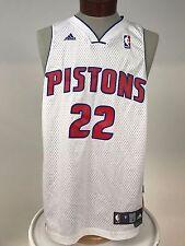 VTG Detroit Pistons Jersey Basketball #22 Tayshaun Prince Adidas Medium NBA