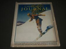 1931 JANUARY LADIES' HOME JOURNAL MAGAZINE - COLOR ADS & ILLUSTRATIONS- K 1058