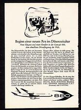 3w1497/ Alte Reklame von 1960 - CONVAIR 880
