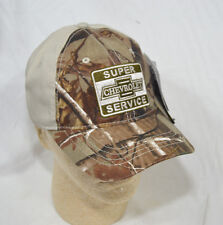 GM Chevrolet Super Service Tan & Realtree Hardwoods Chevy Logo Baseball Cap Hat