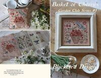 Basket of Cherries - Garden Club Series #1 - Blackbird Designs New Chart