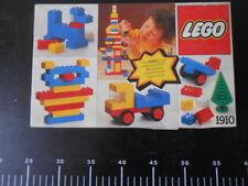 ☆˚  LEGO BUILDING BLOCK SET 1910 VINTAGE 1982 WHEELS TREES DOOR WINDOW 。˚☆