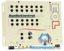 EQL AUDIO CONTROL WHITE CAR EQUALIZER 13-BAND LINE DRIVER 7.5 VOLTS OUTPUT NEW