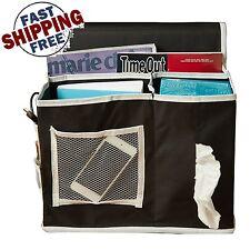 Bedside Caddy Storage Organizer Mattress Hanging Book Remote Bed Holder 6 Pocket