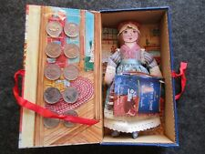 EARLY AMERICAN DOLL & 10 STATE QUARTERS, PENNSYLVANIA & BETSY ROSS, OTT-03167